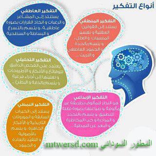 انواع التفكير